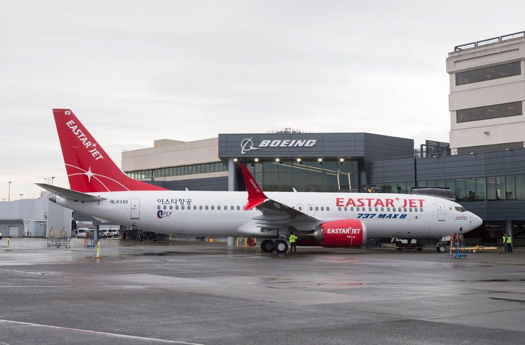 Flugzeuge des Typs Boeing 737 Max bleiben in weiten Teilen der Welt am Boden. Foto: YONHAP