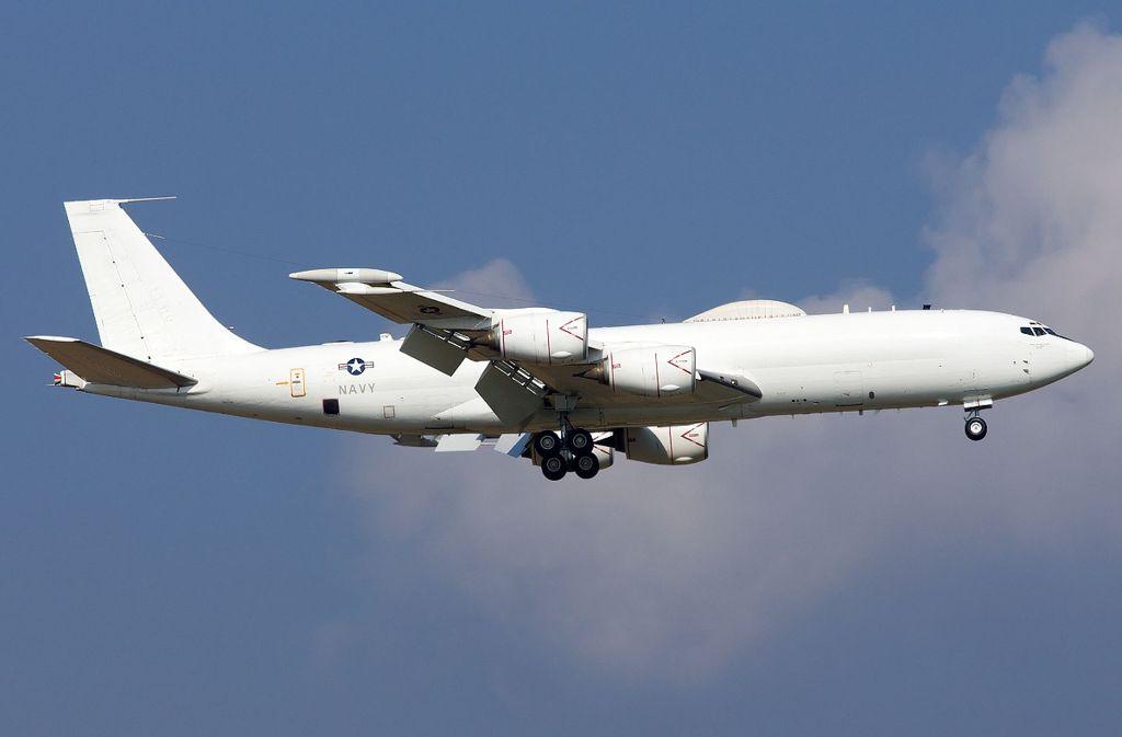 Für Laien sieht die fliegende Kommandozentrale auf den ersten Blick aus wie ein Passagierflugzeug. Foto: nnplanespotting.de.to