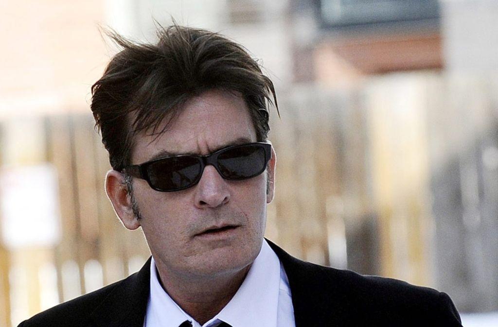 Charlie Sheen ist wieder in Ermittlungen der Polizei verwickelt. (Archivfoto) Foto: dpa