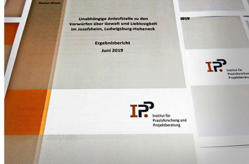 Aufklärer: Im Josefsheim war Gewalt an der Tagesordnung