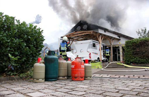 Polizei sucht weiter nach mutmaßlichem Brandstifter