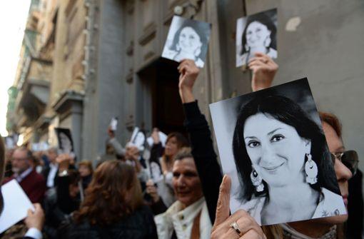 Maltesischer Geschäftsmann wegen Mordes an Journalistin festgenommen
