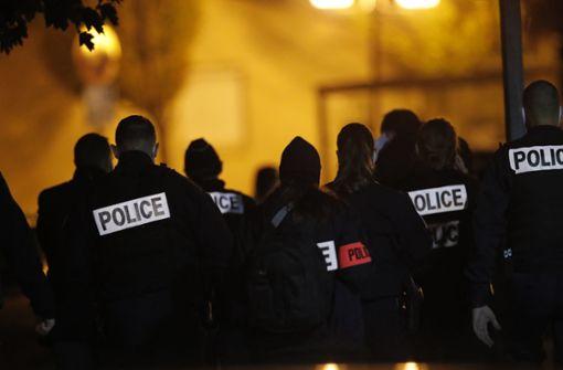 Mehrere Festnahmen nach Enthauptung von Lehrer bei Paris