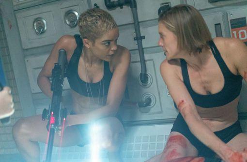 Katee Sackhoff, Aliens  und dehydrierte Smoothies