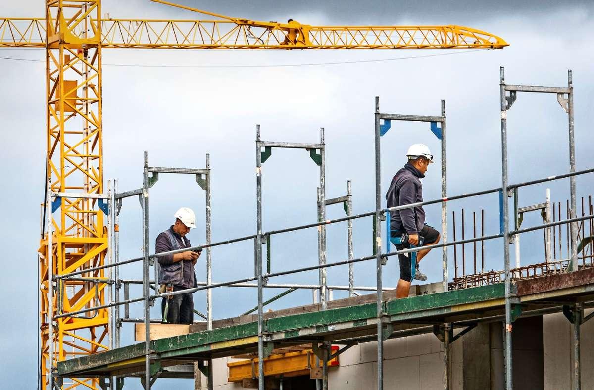 """Laut der Potenzialanalyse Wohnen könnten in Stuttgart insgesamt 18300 Wohneinheiten entstehen. Bei dieser Zahl handle es sich aber nur um """"einen theoretisch möglichen Zuwachs"""". Foto: picture alliance/dpa/Cindy Riechau"""