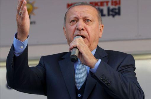 """Erdogan kritisiert """"Terroranschlag"""" auf Gläubige aufs Schärfste"""