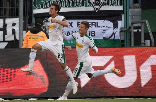 Borussia Mönchengladbach gewinnt Rhein-Derby gegen Leverkusen