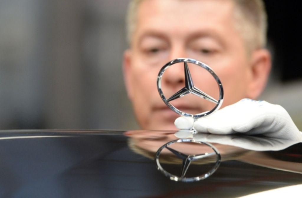 Daimler ist aktuell sehr  erfolgreich, sucht aber noch die richtigen  Autos der Zukunft. Foto: dpa