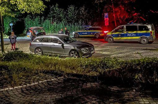 Flüchtiger Täter durch Schuss von Polizist vermutlich verletzt