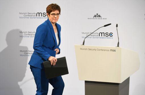 Die Verteidigungsministerin hat noch viel vor