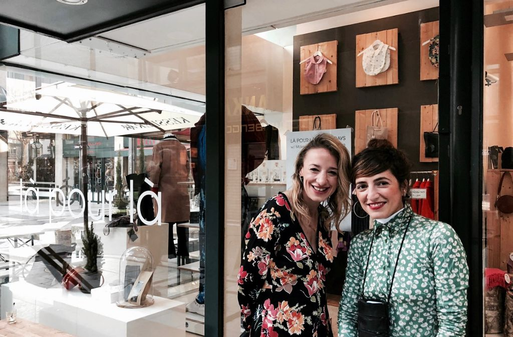 Immer wieder etwas Neues im Fluxus: Arbresha Dika und Maria-Assunta Marci (v.li.) freuen sich auf die Beauty Days im Là Pour Là. Foto: Tanja Simoncev