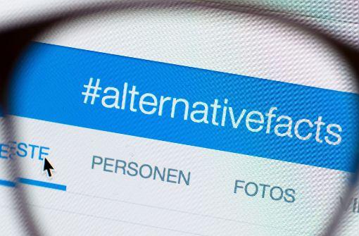 """""""Es gibt keine alternativen Fakten"""""""