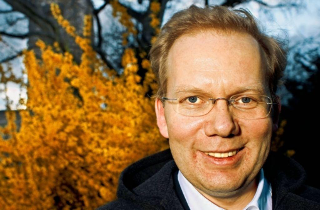 Sebastian Turner – tritt er für die CDU bei der OB-Wahl im Herbst an? Foto: Horst Rudel