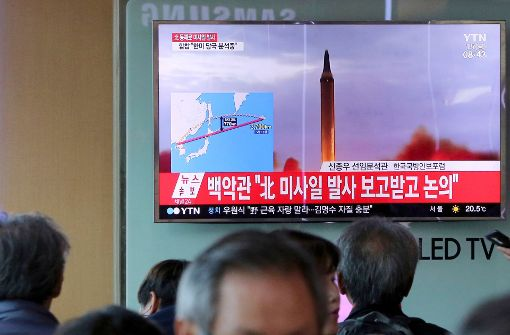 Erneut Rakete über Japan hinweggeschossen