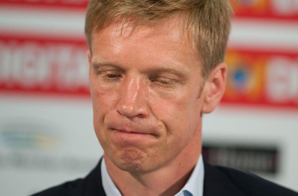 Fußball-Zweitligist VfB Stuttgart wird nach dem Abstieg aus der Bundesliga weitere Leistungsträger verlieren – das teilte der neue Sportvorstand Jan Schindelmeiser mit. Foto: Archiv/dpa