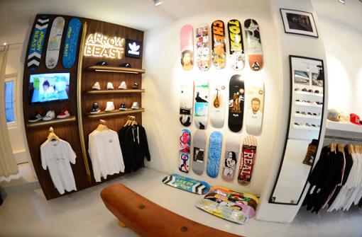 Von Skateboardern für Skateboarder