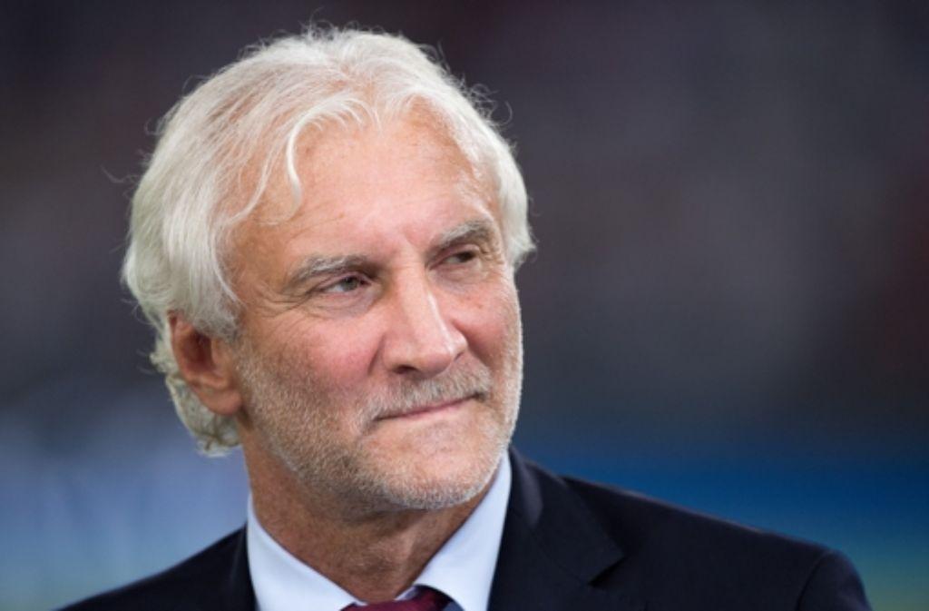 Auch gegen Rudi Völler ermittelt der DFB nun. Foto: dpa