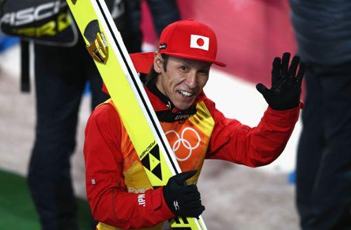 Skisprung-Oldie Noriaki Kasai will 2022 Medaille holen