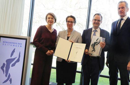 Marias Eltern mit Bürgerpreis ausgezeichnet