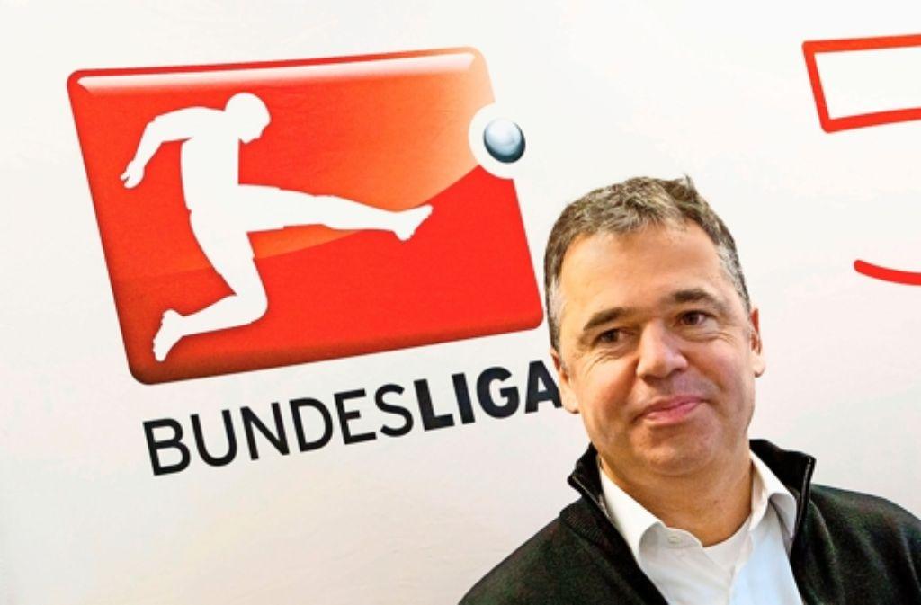 Willkommen auf dem VfB-Kandidatenkarussell: DFL-Geschäftsführer Andreas Rettig ist im Gespräch für die Nachfolge von Fredi Bobic. Weitere Kandidaten zeigen wir in der Fotostrecke. Foto: