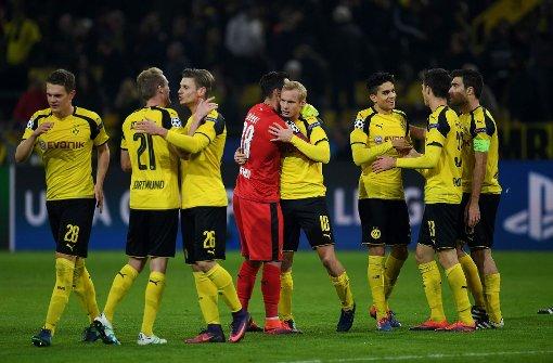 Dortmund vorzeitig im Champions-League-Achtelfinale