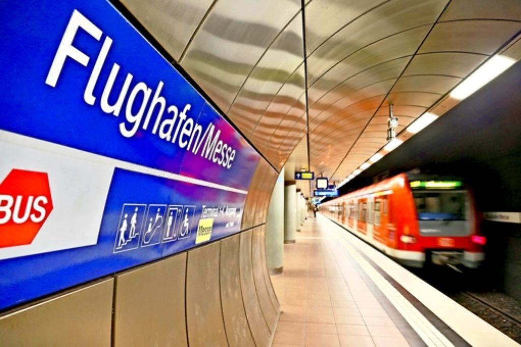 Streitpunkt: Sollen in der Station  unterm Terminal S-Bahnen und Regionalzüge halten? Foto: