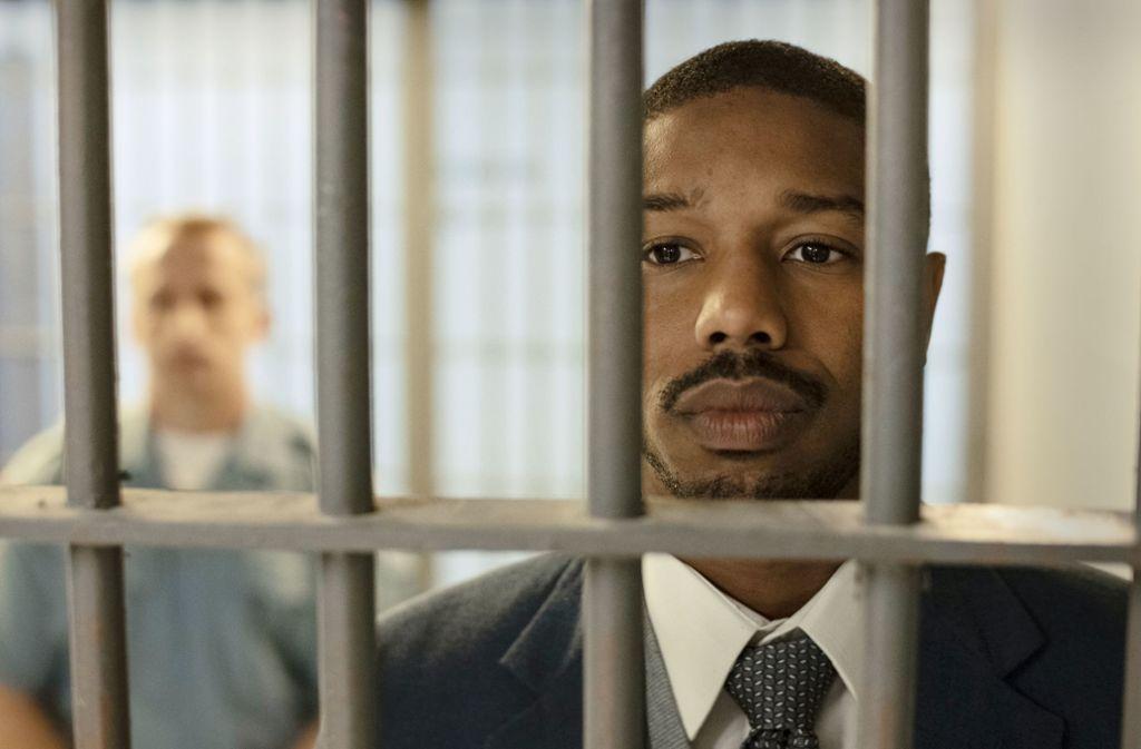 Michael B. Jordan spielt einen schwarzen  Anwalt in den Südstaaten. Foto: Warner