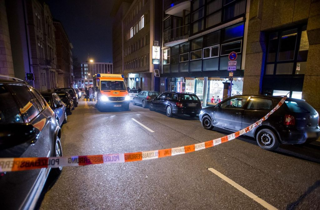 Nach der Schießerei im Stuttgarter Westen hat die Polizei die Ermittlungen aufgenommen. Foto: 7aktuell.de/Simon Adomat