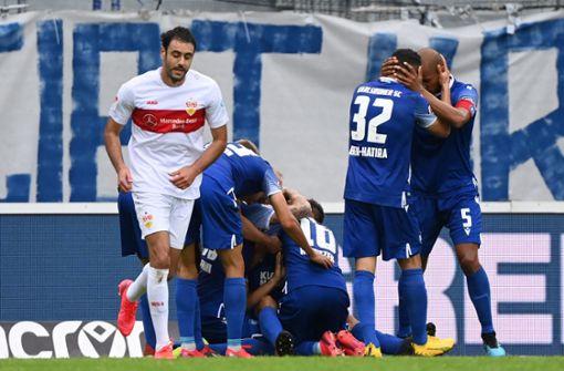 VfB Stuttgart vergeigt Derby und rutscht auf Relegationsplatz