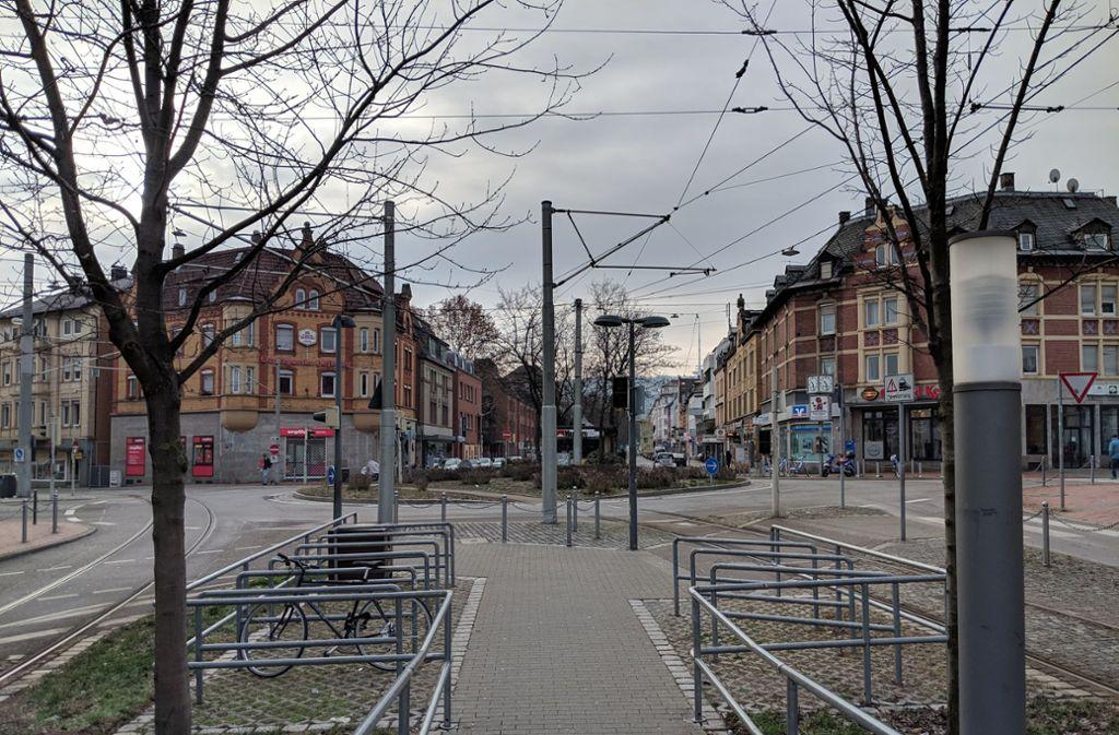Diese und nächste Woche hält nur die Stadteinwärts-U4 am Ostendplatz. Foto: Jürgen Brand