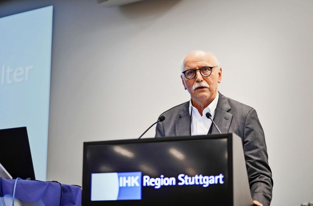 Wieland Backes: Bürgerinitiativen ersetzen keinen Gemeinderat. Foto: Lichtgut/Kovalenko