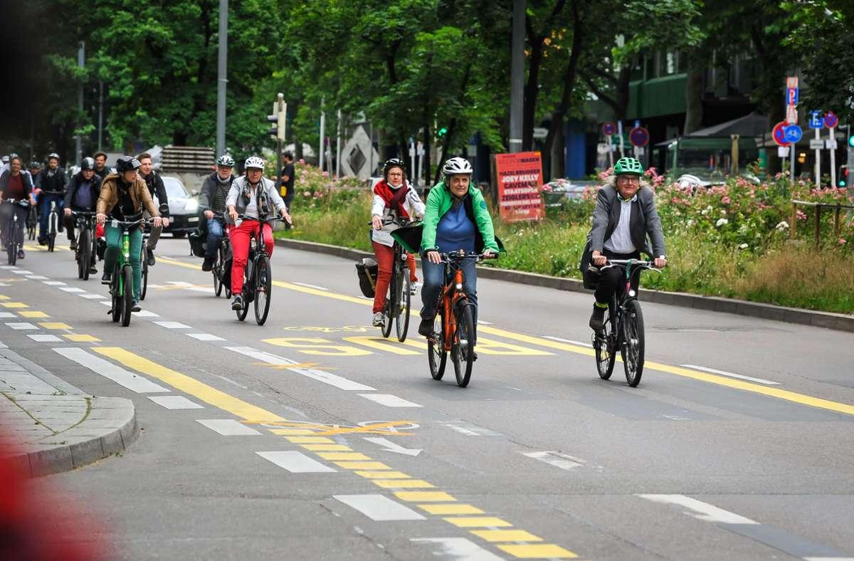 Fahrradwege sollen Sicherheit bringen. Foto: Lichtgut/Max Kovalenko