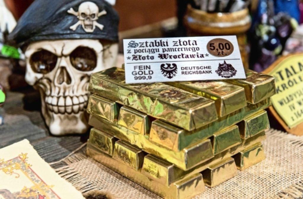 Solange kein echtes Gold gefunden wird, werden in Walbrzych schon mal Schokoladen-Goldbarren verkauft. Foto: dpa