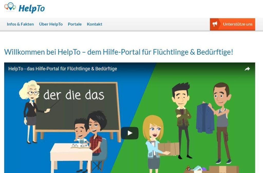 Derzeit gibt es deutschlandweit bereits  78 HelpTo-Portale in elf Bundesländern. Foto: Screenshot Helpto.de