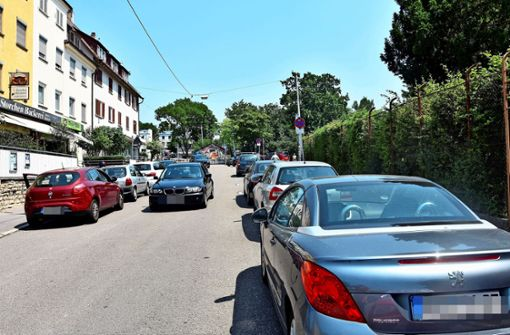 Parkplatznot durch Kanalbauarbeiten