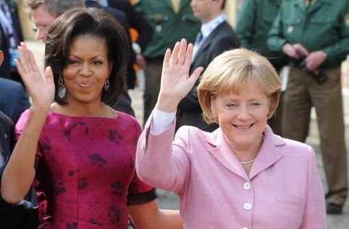 Merkel läuft Michelle Obama den Rang ab