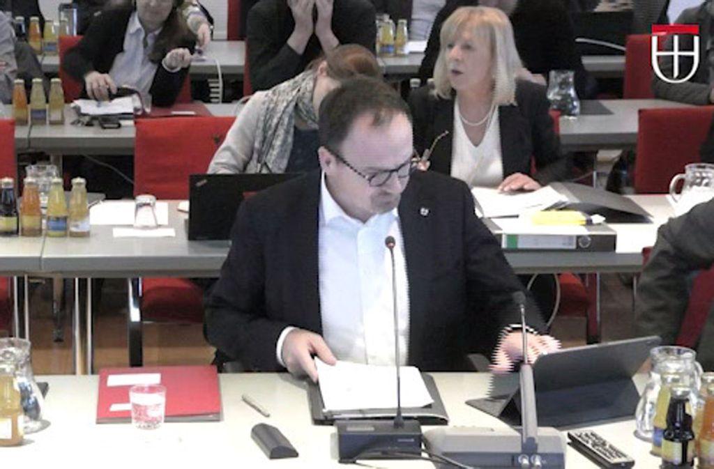 In Konstanz ist Oberbürgermeister Uli Burchardt (CDU) trotz Podcast-Übertragung seiner Gemeinderatssitzungen  bisher nicht zum viralen Superstar geworden. Foto: Stadt Konstanz