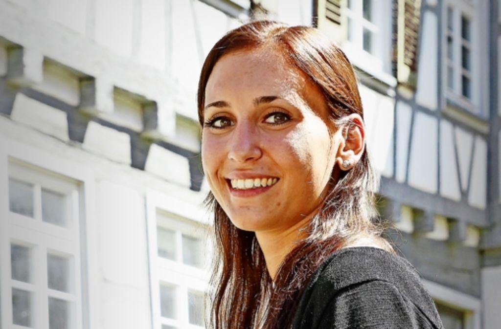 """Jessica Baisch studiert den neuen Studiengang """"Planung und Partizipation"""". Foto: factum/Bach"""
