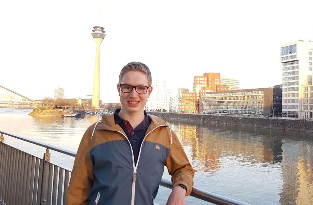 Jonas Knickenberg hilft ehrenamtlich auf der Quarantänestation mit. Foto: privat