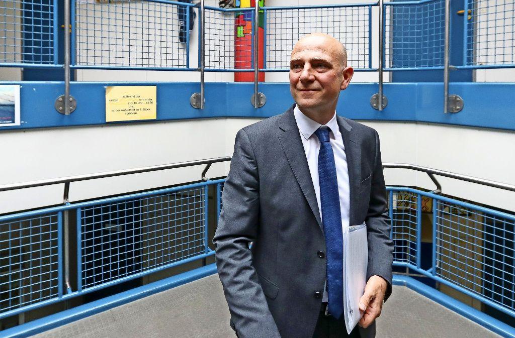 Felix Stadtfeld steht nun an der Spitze des einzigen Gymnasiums der Großen Kreisstadt. Foto: factum/Granville