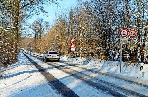 Bei Gegenverkehr ist Vorsicht geboten