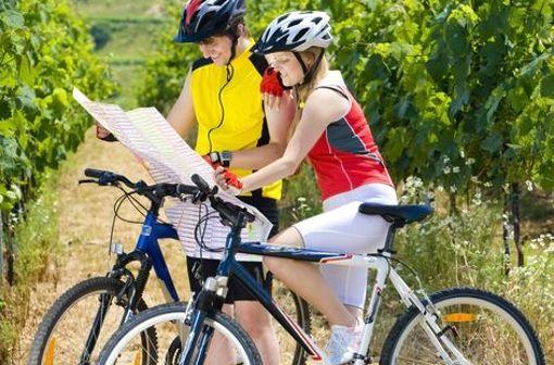 Aussichtsreiche Radtour in der Weinregion Stromberg