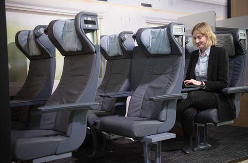 ICE-Züge bekommen bequemere Sitze