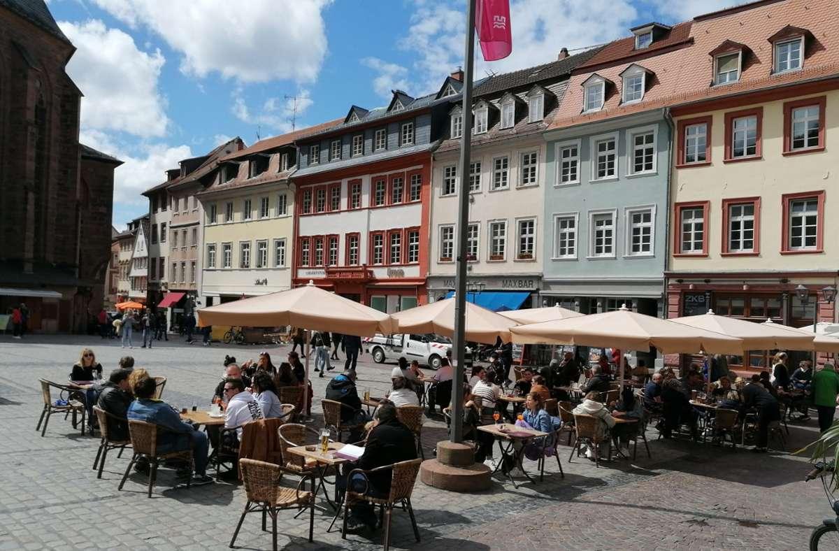 In Heidelberg wurde wieder angestoßen. Foto: Andreas Rosar/Fotoagentur Stuttgart