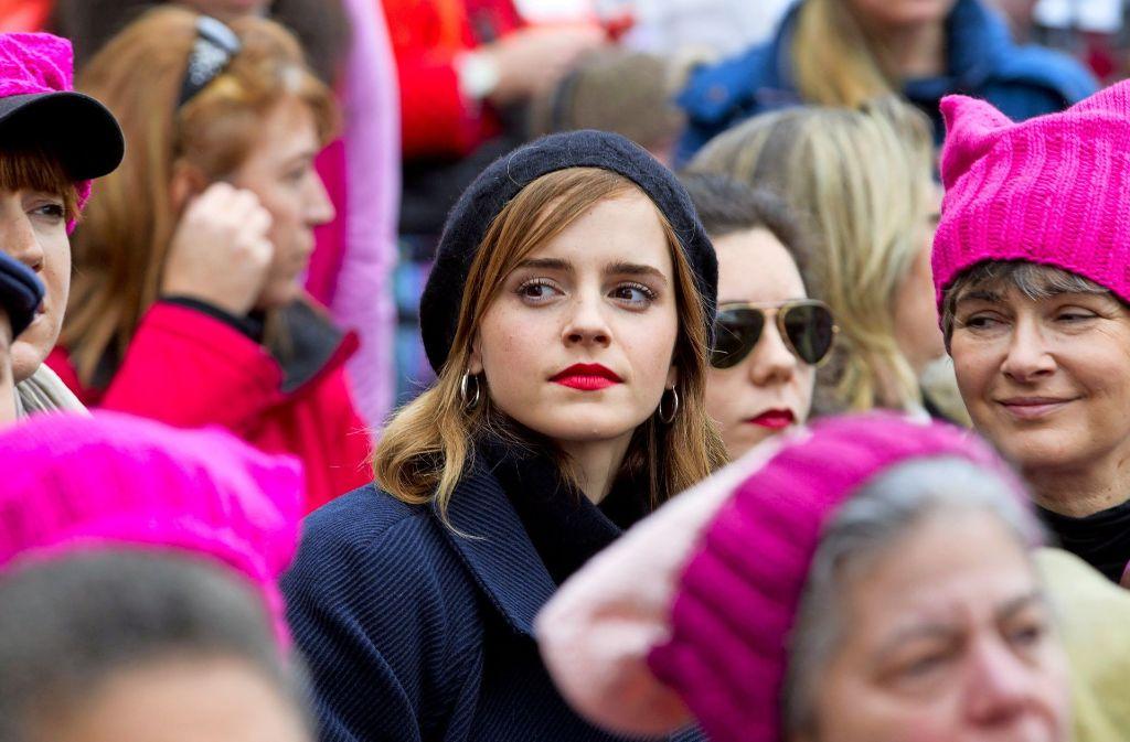 Politische Einmischung – ähnlich wie beim Marsch der amerikanischen Frauen in Washington, die gegen Trump protestierten – gehört auch beim Göppinger Interkulturellen Frauenrat zum Programm. Foto: AP