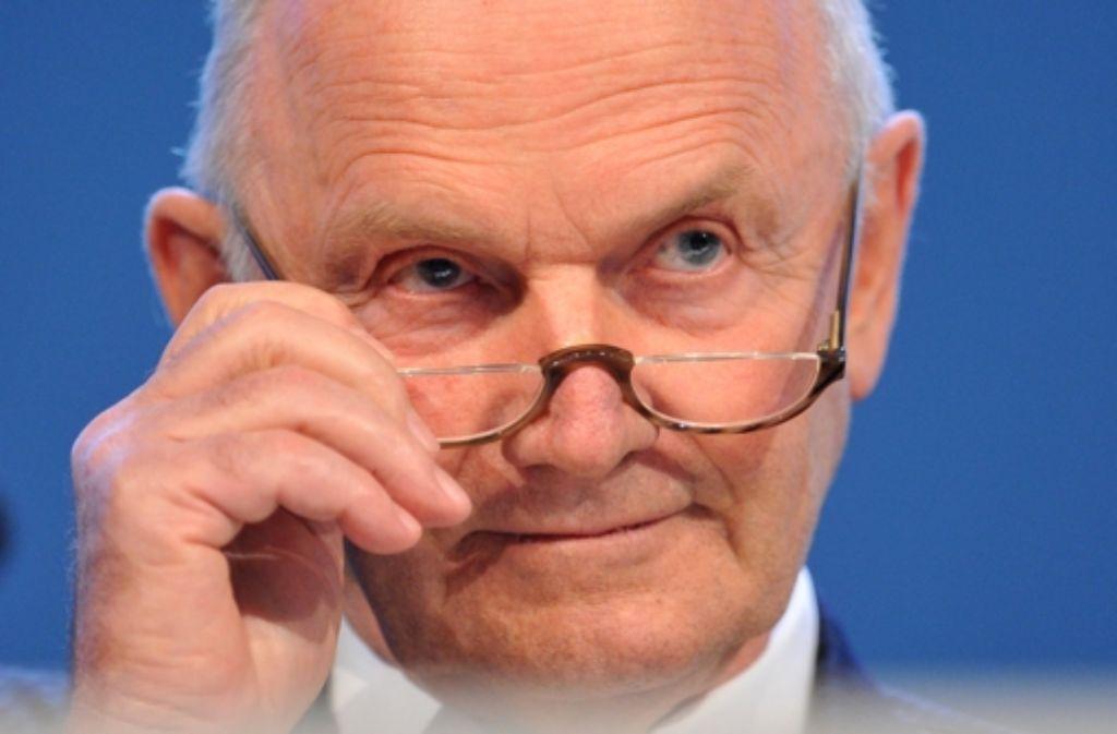 VW-Aufsichtsratsvorsitzender Ferdinand Piëch Foto: dpa