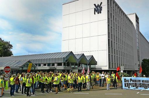 WMF-Mitarbeiter kämpfen um ihre Jobs