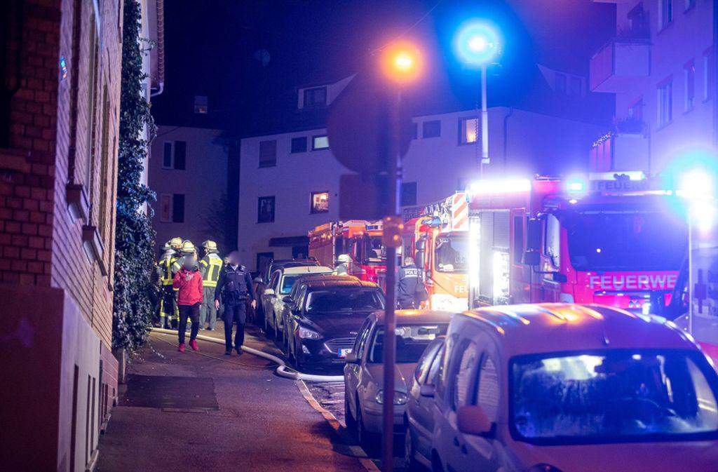 Die Feuerwehr rückte gegen 21.30 Uhr zu dem Brand aus. Foto: 7aktuell.de/Simon Adomat