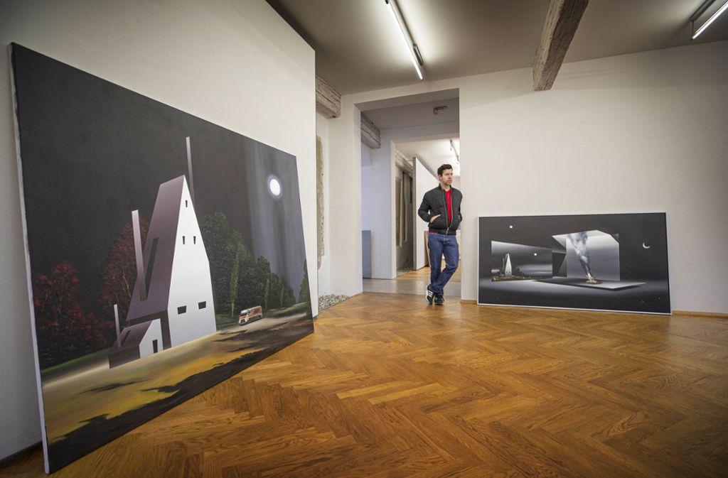 Titus Schade lebt für – und offenbar auch ganz gut von der Kunst. Foto: Gottfried Stoppel