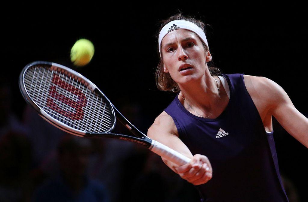 Andrea Petkovic sagt für die Australien Open ab. Foto: Pressefoto Baumann/Julia Rahn